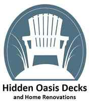 Decks, Docks and Home / Cottage Renovations