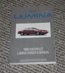 1990 Chevy Lumina Owners Manual
