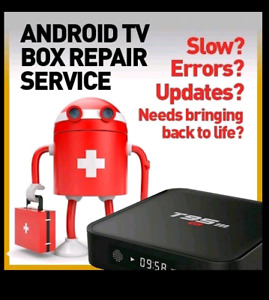 Android/Kodi/TV box Repair&Upgrade Kodi 18