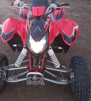 400cc automatic quad 2016 model