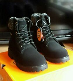 Brand new Lugz Convo Faux Fur Boot UK size 4