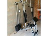 Multi gym and weights bench with extras!!