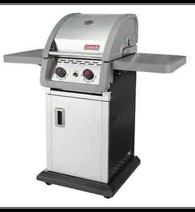BARGAIN, BBQ Coleman+ propane tank + cover + Accesories