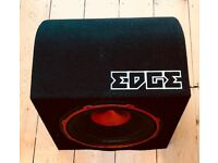 Edge EDB12A Active Car Speaker, Subwoofer Very Good Condition