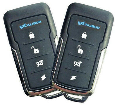 Full-featured Remote (OMEGA Excalibur KE-170 Full Featured Deluxe Remote Keyless Entry System)
