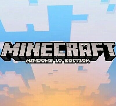 Minecraft Windows 10 Edition - PC DOWNLOAD KEY - REGION FREE (GLOBAL)