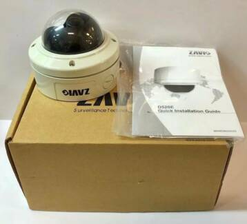ZAVIO D520E DOME CCTV CAMERA - AS NEW