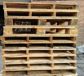Pallets, Pallet Lids and Firewood for Sale