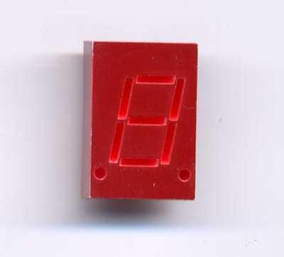 Hp5082-7653 He Red 7 Seg - Common Cathode 0.3 Display