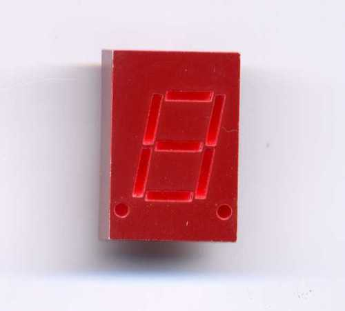 "HP5082-7653 HE Red 7 Seg - Common Cathode 0.3"" Display"
