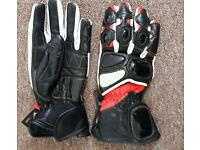 Women's XS motorcycle gloves