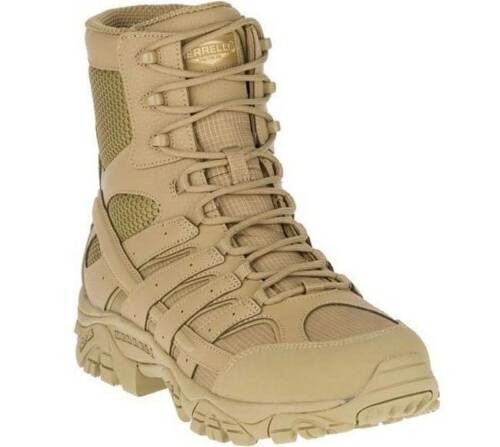 "Merrell NEW Moab 2 8"" Tactical Boot Coyote Unisex Men"