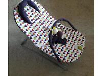Mamas and Papas vibrating baby rocker bouncer seat
