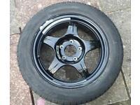 Mercedes CLK genuine spare wheel