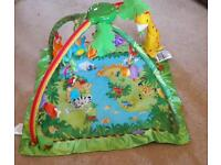 Fisher Price Rainforest Baby Play Mat Gym
