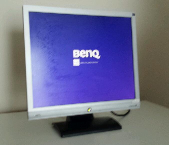 "Treadmill Desk Gumtree: Benq 17"" Lcd Monitor. Model Benq G700. Perfect Working"