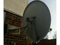 Used satellite dish 1.2 meters 2lbn's