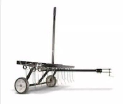Dethatcher Tine Style Tow Behind Weight Tray 40-Inch by Agra Fab