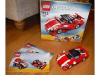 Lego sets 5867, 4883 and 8673 Ferrari set
