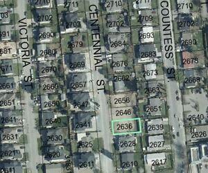 GREAT BUILDING LOT - 2636 CENTENNIAL STREET
