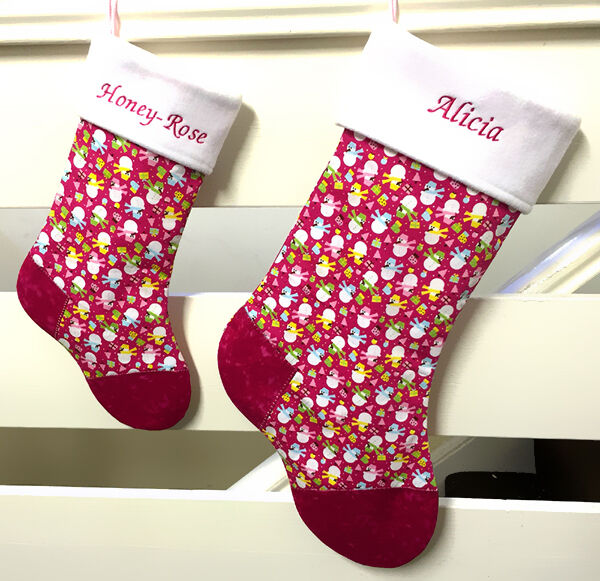 Kid-Friendly Ways to Personalize Christmas Stockings | eBay