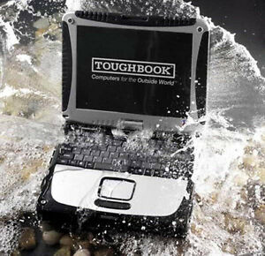 TOUGHBOOK CF-19 RUGGED MAGNESIUM LAPTOP = SWIVEL TOUCH SCREEN