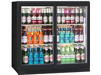 Brand new back bar cooler