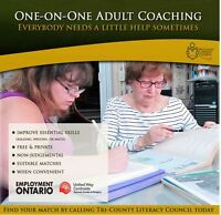 FREE One-on-One Adult Coaching Available