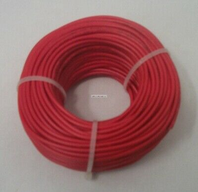 20 Awg Tinned Copper Stranded Hook Up Wire 100 Feet Red Ul1007