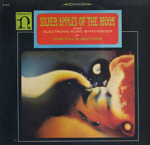 Morton Subotnick-Silver Apples of the Moon-Original 1960s lp