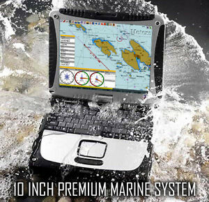PREMIUM EAST COAST 10 INCH MARINE NAVIGATION TOUGHBOOK SYSTEM