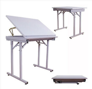 Quality Steel Folding Drawing Drafting Table NO.190301