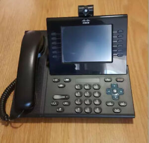 Cisco VOIP Unified IP PoE Phone 9971 with Camera