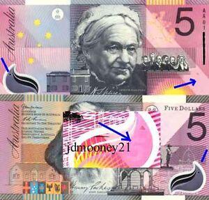 Australian First Prefix $5 AA01 Federation Commemorative Polymer Banknote r219L
