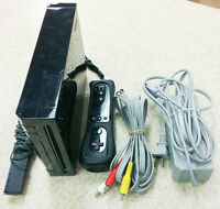 Nintendo Wii Console Black for $50