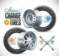 MC TIRE CHANGE OVER at your service & Location starting at $50