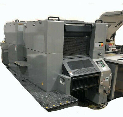 Presstek 52di 4-color 14 X 20 Direct Imaging Digital Offset Printing Press
