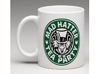 Mad Hatters Tea Party Coffee Mug
