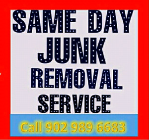 Same day junk removal