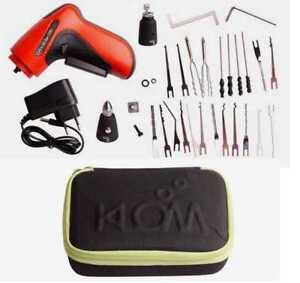 Electric Lock Pick Gun with Rechargeable Builtin Battery