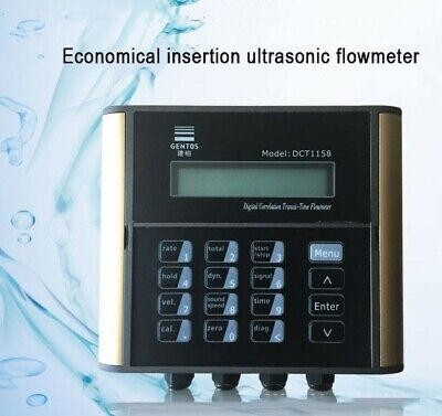 Insertion Ultrasonic Flow Meter 1000 M3h 1.6mpa For Water Pipe Dn50-1200mm Xs90