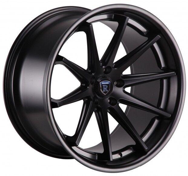 RC ROHANA X X X Black Wheels Fit Acura Tl Type - Acura tl type s rims
