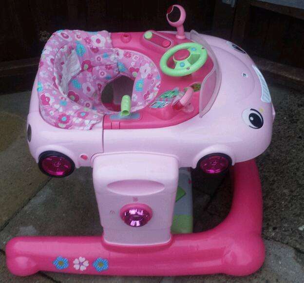 a2c3785aa Mothercare Girls Baby Walker   Bouncer