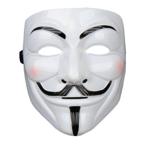 Sale Masker Anonymous Mask V For Vendetta Guy Fawk