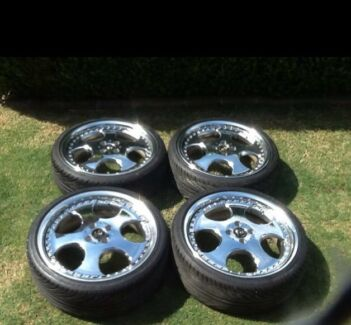Chrome Work Vs  18 inch rims and tyres