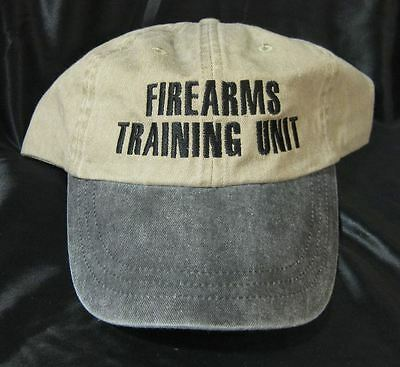 New Denim Firearms Training Unit Khaki Cotton Hat Cap Marksmanship Ballcap