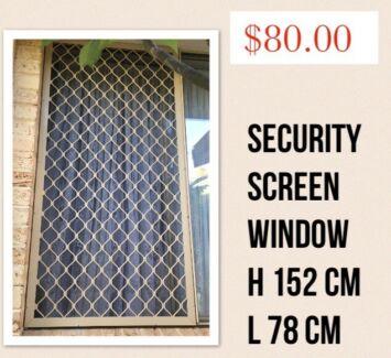 Security doors and security screens window
