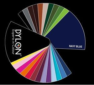 DYLON FABRIC CLOTHES WASHING MACHINE WASH N DYE BOX 200G ASSORTED COLOURS/SALT