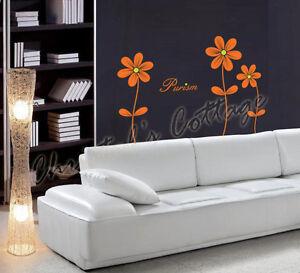 3-Daisy-Flower-Vinyl-Wall-Art-Sticker-Decal-Decoration-Bedroom-Livingroom-T-70cm
