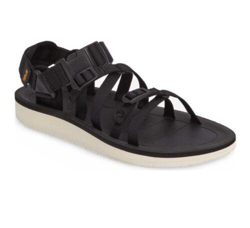 Women Teva Alp Premier Sport Sandal Padded Arch Support Adjustable Straps Black